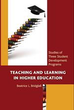 Teaching and Learning in Higher Education