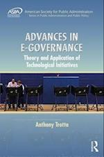 Advances in E-Governance (Aspa Series in Public Administration and Public Policy)
