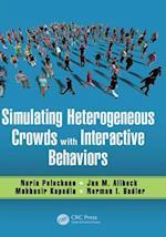Simulating Heterogeneous Crowds with Interactive Behaviors