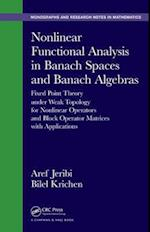 Nonlinear Functional Analysis in Banach Spaces and Banach Algebras af Aref Jeribi