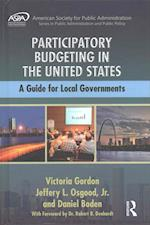 Participatory Budgeting in the United States (Aspa Series in Public Administration and Public Policy)