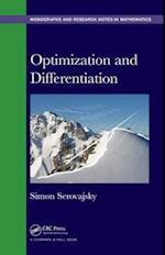 Optimization and Differentiation (Chapman HallCRC Monographs and Research Notes in Mathematics)