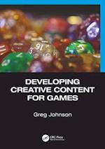 Developing Creative Content for Games