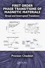 First Order Phase Transitions of Magnetic Materials