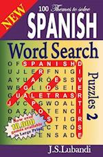 New Spanish Word Search Puzzles 2