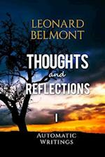 Thoughts and Reflections - Volume I af Leonard Belmont