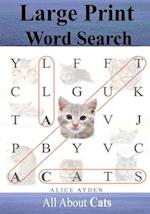 Large Print Word Search af Alice Ayden