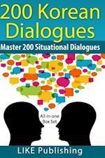 200 Korean Dialogues Box Set