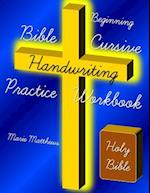 Beginning Bible Cursive Handwriting Practice Workbook