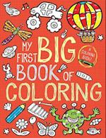 My First Big Book of Coloring af Little Bee Books