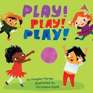 Bog, hardback Play! Play! Play! af Douglas Florian