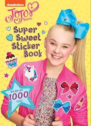 Super Sweet Sticker Book