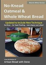 No-Knead Oatmeal & Whole Wheat Bread (B&w Version) af Steve Gamelin