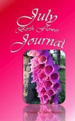 July Birth Flower Journal