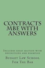 Contracts MBE with Answers