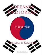 Koreansk Ordforrad af Thomas P. Koziara