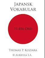 Japansk Vokabular af Thomas P. Koziara