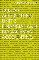 Aqa as Accounting Unit 2 Financial and Management Accounting