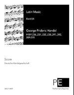Latin Music af George Frideric Handel