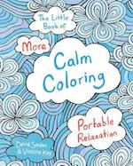 The Little Book of More Calm Coloring Adult Coloring Book