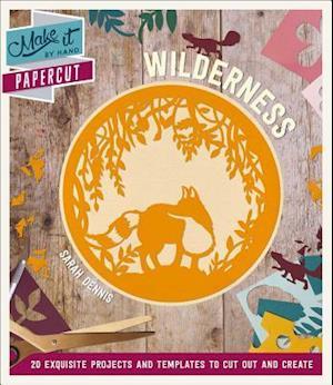 Bog, paperback Papercut Wilderness af Sarah Dennis