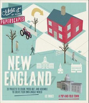 Bog, paperback Paperscapes New England af Lee Bruce
