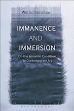 Immanence and Immersion