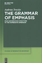 The Grammar of Emphasis (Studies in Generative Grammar Sgg, nr. 131)