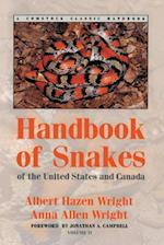 Handbook of Snakes of the United States and Canada af Albert Hazen Wright