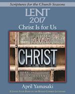 Christ Is for Us - Large Print