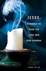 Jesus, Remember Me Tenebrae Bulletin (Pkg of 50)