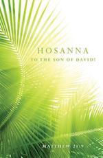 Hosanna Palm Sunday Bulletin (Pkg of 50)