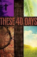 These 40 Days Images Lent Bulletin (Pkg of 50)