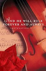 Rule Forever Music Christmas Bulletin (Pkg of 50)