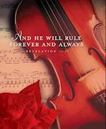 Rule Forever Music Christmas Bulletin, Large (Pkg of 50)