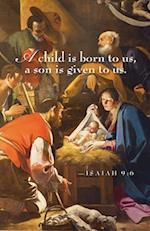 A Child Nativity Christmas Bulletin (Pkg of 50)