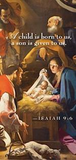 A Child Nativity Christmas Offering Envelope (Pkg of 50)
