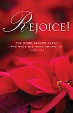 The Word Poinsettia Christmas Bulletin (Pkg of 50)