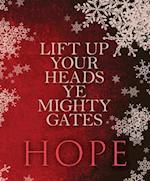 Hope Hymn Advent Bulletin, Large (Pkg of 50)