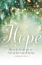 Hope Image Advent Bulletin (Pkg of 50)