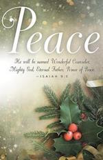 Peace Image Advent Bulletin (Pkg of 50)