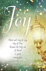 Joy Image Advent Bulletin (Pkg of 50)