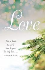 Love Image Advent Bulletin (Pkg of 50)