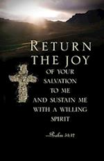 Return the Joy Ash Wednesday Bulletin (Pkg of 50)