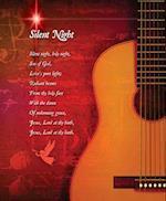 Silent Night Christmas Bulletin, Large (Pkg of 50)
