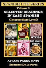 Selected Readings in Easy Spanish Volume 9 af Alvaro Parra Pinto