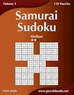 Samurai Sudoku - Medium - Volume 3 - 159 Puzzles