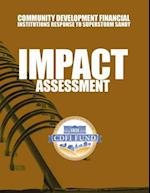 Community Development Financial Institutions Response to Superstorm Sandy Impact Assessment af U. S. Department of the Treasury