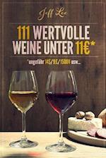 111 Wertvolle Weine Unter 11 Euros af Jeff Lee