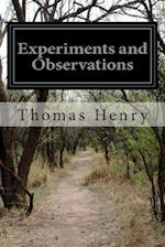 Experiments and Observations